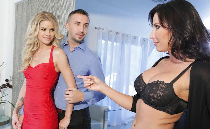 Проститутка брюнетка для семейной пары